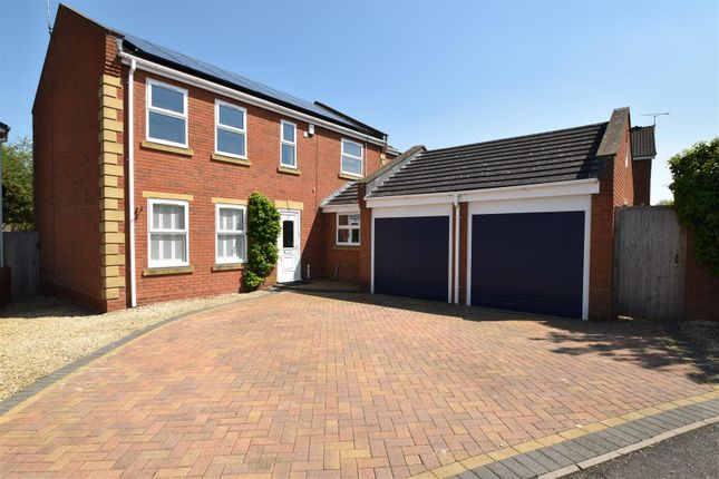 Thumbnail Detached house for sale in Hornsby Avenue, Worcester, Worcestershire
