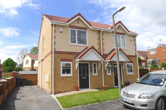 Thumbnail Semi-detached house to rent in Ivanhoe Mews, Swallownest, Sheffield