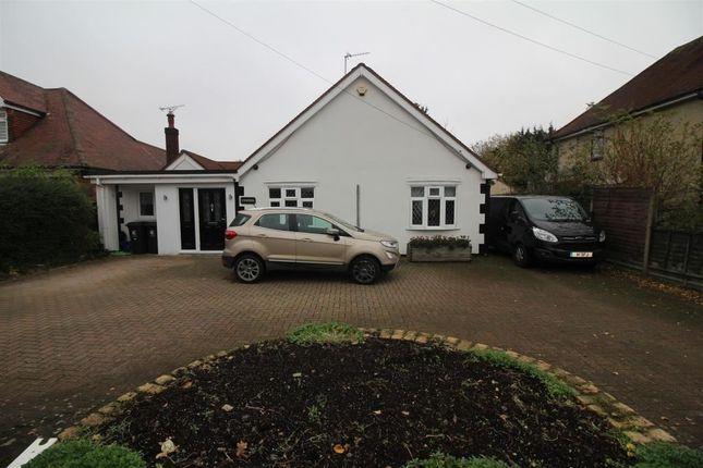 Thumbnail Bungalow for sale in Epping Road, Roydon, Harlow