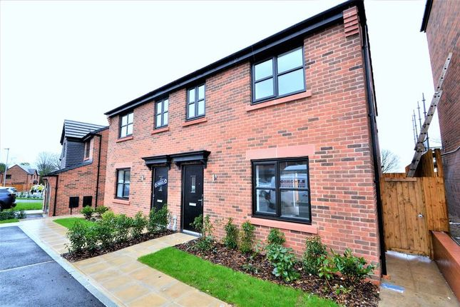 Thumbnail Semi-detached house to rent in Scholars Avenue, Salford