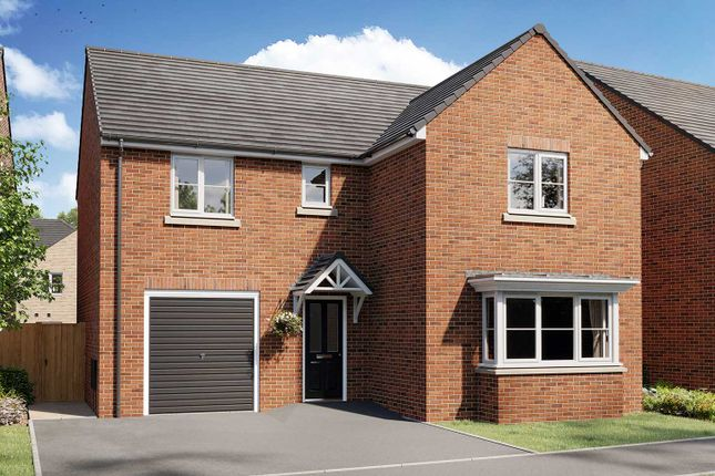 "Thumbnail Detached house for sale in ""The Grainger"" at Village Street, Runcorn"