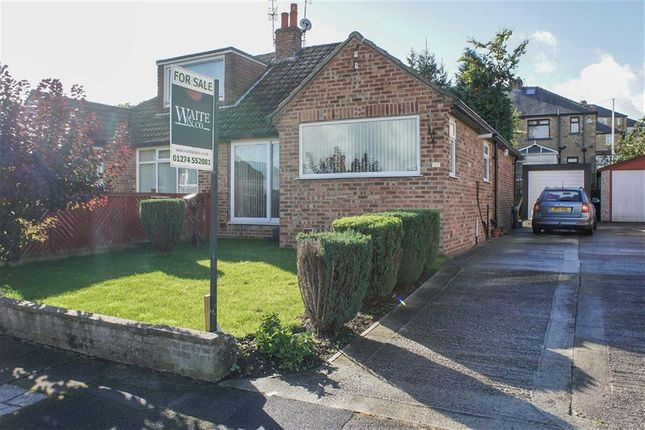 Thumbnail Semi-detached bungalow for sale in Roundhill Avenue, Cottingley, West Yorkshire