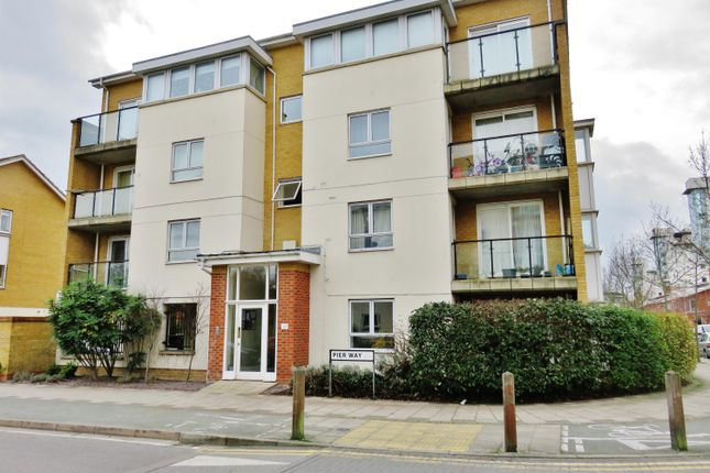 Thumbnail Flat to rent in Pier Way, Thamesmead, London