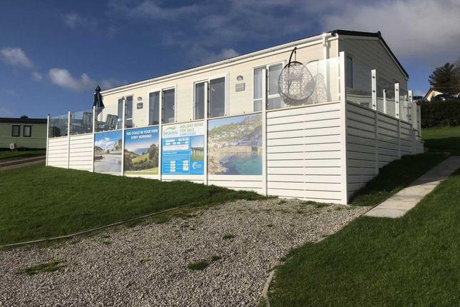 2 bed lodge for sale in Polperro, Looe, Cornwall