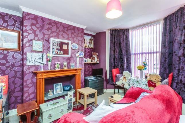 Living Room of Peter Street, Blackpool, Lancashire, . FY1