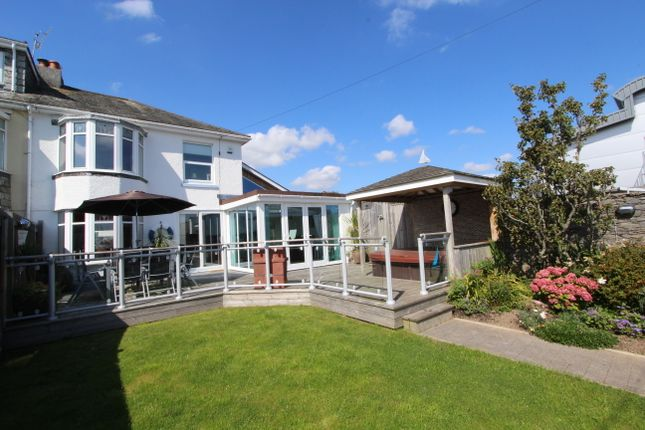 Thumbnail Semi-detached house to rent in Carew Wharf Business Centre, Marine Drive, Torpoint