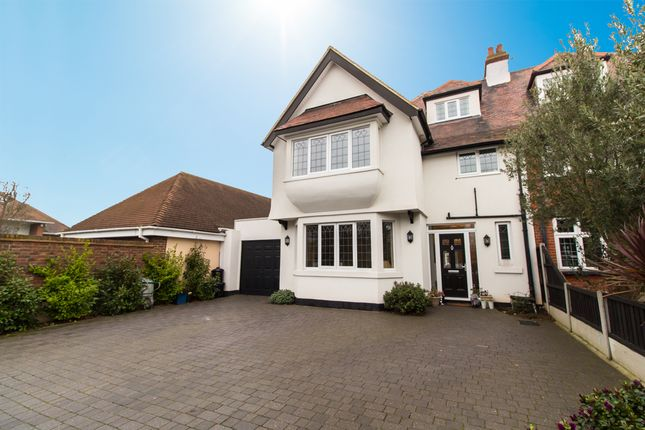 Thumbnail Semi-detached house for sale in Elm Grove, Thorpe Bay