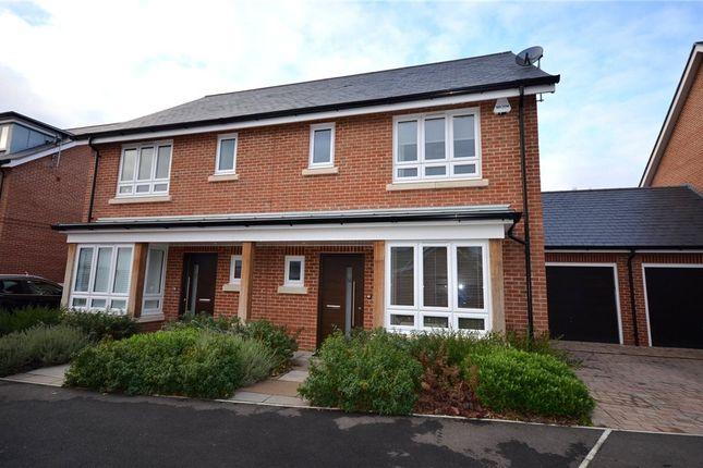 Thumbnail Semi-detached house for sale in Teaseltun, Fleet, Hampshire