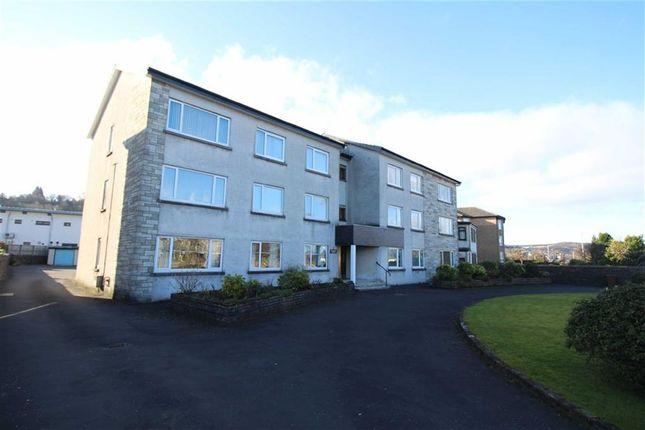 Thumbnail Flat for sale in Octavia Terrace, Greenock, Renfrewshire