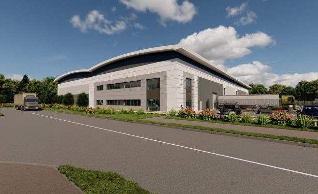 Thumbnail Light industrial to let in Emdc 190, Plot 3, East Midlands Distribution Centre, Castle Donington