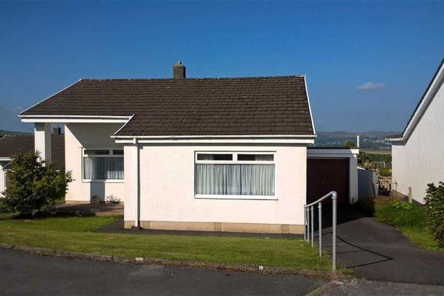 Thumbnail Detached bungalow for sale in Hendre Park, Llangennech, Llanelli