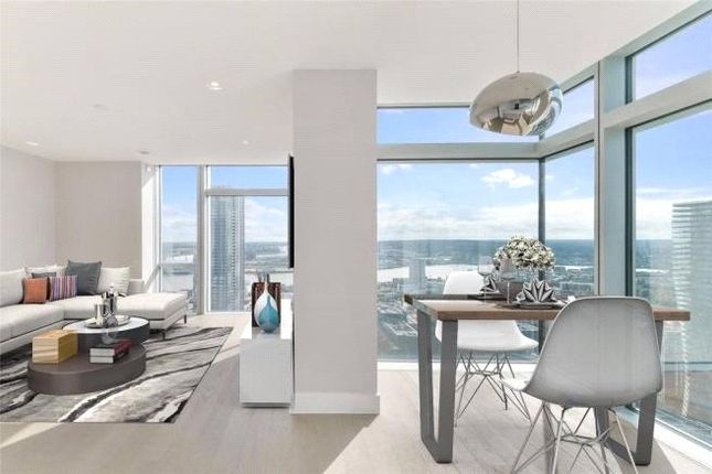 Thumbnail Flat for sale in Pan Peninsula Square, Canary Wharf, London