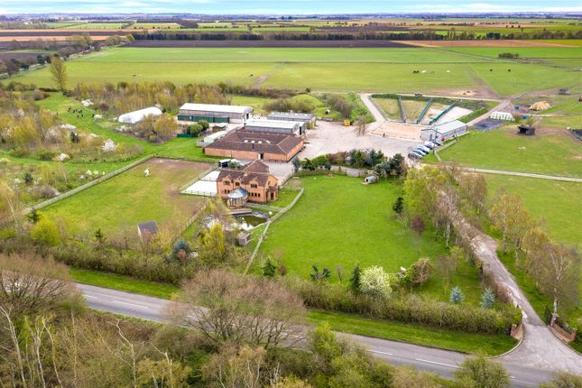 Thumbnail Equestrian property for sale in Mill Race Farm, Wroot Road, Finningley, Doncaster