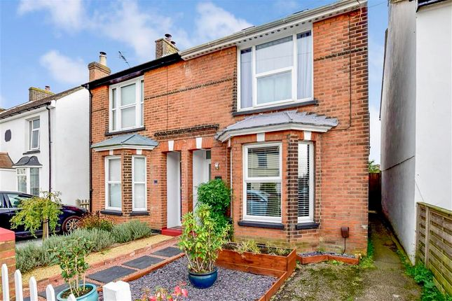 Semi-detached house for sale in Romney Road, Willesborough, Ashford, Kent