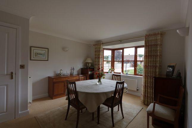 Dining  Room of Oldcroft, Lydney, Gloucestershire. GL15