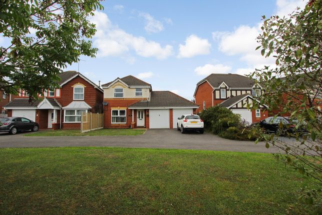 Thumbnail Detached house for sale in Tressell Way, Thorpe Astley, Leicester