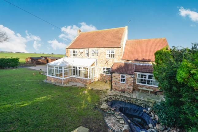 Thumbnail Detached house for sale in Skutterskelfe, Hutton Rudby, Yarm, North Yorkshire