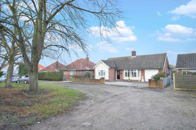 Thumbnail Detached bungalow for sale in Lowestoft Road, Worlingham, Beccles