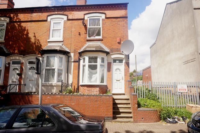 Thumbnail End terrace house to rent in Wattville Road, Handsworth, Birmingham