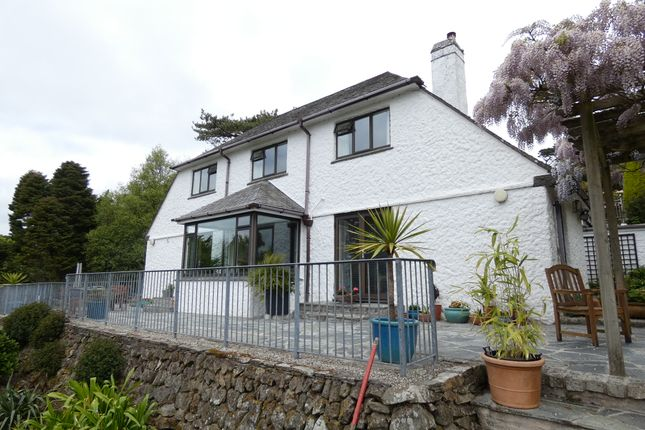 Thumbnail Detached house for sale in Malpas Road, Truro