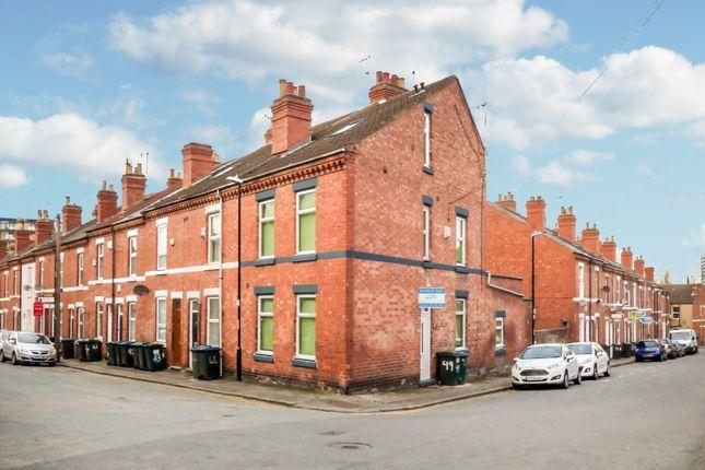 Thumbnail End terrace house for sale in Gordon Street, Earlsdon, Coventry