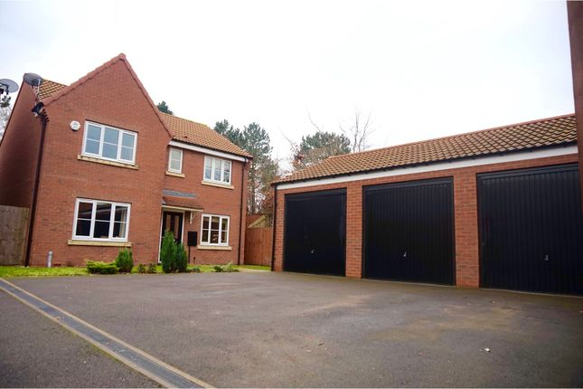 Thumbnail Detached house for sale in St. Giles Close, Retford