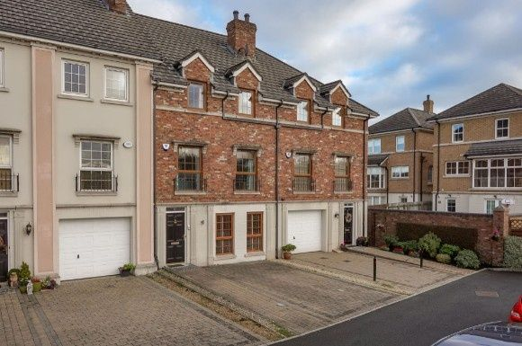 Thumbnail Town house for sale in Berkeley Hall Place, Lisburn