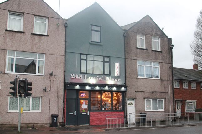 Thumbnail Restaurant/cafe for sale in Corporation Road, Newport