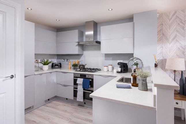 "Thumbnail Semi-detached house for sale in ""Kingsville"" at Fleece Lane, Nuneaton"