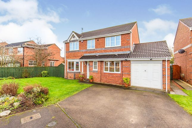 Thumbnail Detached house for sale in Abbotsfield Way, Faverdale, Darlington