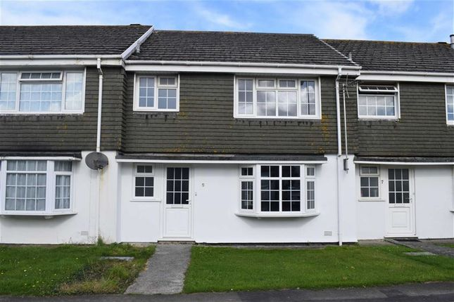 Thumbnail Terraced house to rent in West Fairholme Road, Bude, Cornwall