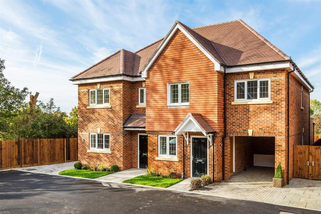 Thumbnail Semi-detached house for sale in Foreman Road, Ash, Guildford
