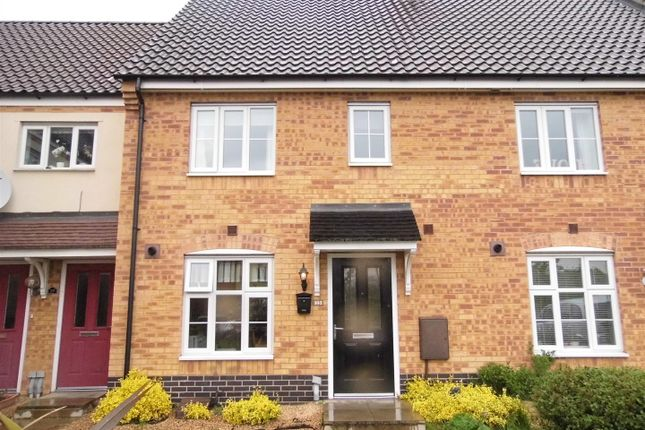 Thumbnail Terraced house for sale in Savage Close, King's Lynn