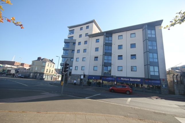 Thumbnail 1 bed flat to rent in Penrose House, 2 Lockyers Quay, Plymouth, Devon