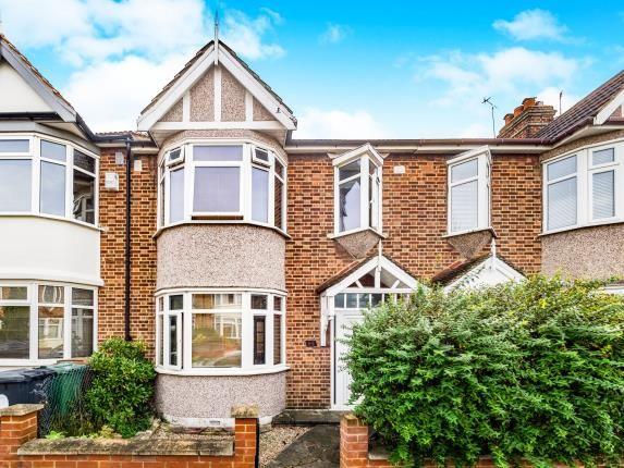 3 bed terraced house for sale in Coolgardie Avenue, London