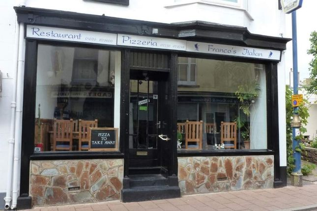 Thumbnail Restaurant/cafe to let in Teignmouth, Devon