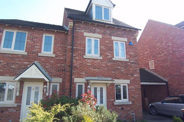 Thumbnail Semi-detached house to rent in Cambourne Place, Mansfield