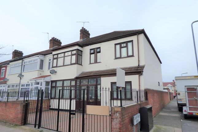 Thumbnail End terrace house for sale in Staines Road, Ilford