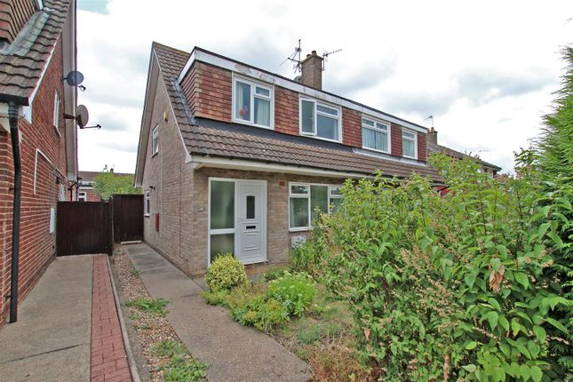 Thumbnail Semi-detached house to rent in Richey Close, Arnold, Nottingham