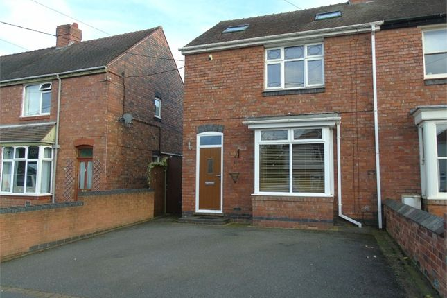 Thumbnail Semi-detached house to rent in Spon Lane, Grendon, Atherstone, Warwickshire