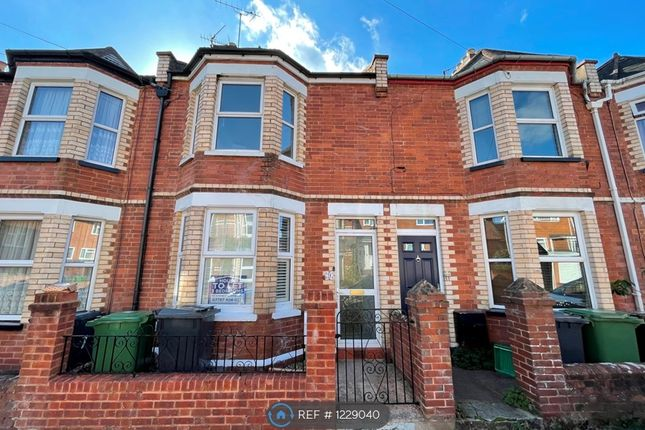 Thumbnail Terraced house to rent in Church Path Road, Exeter
