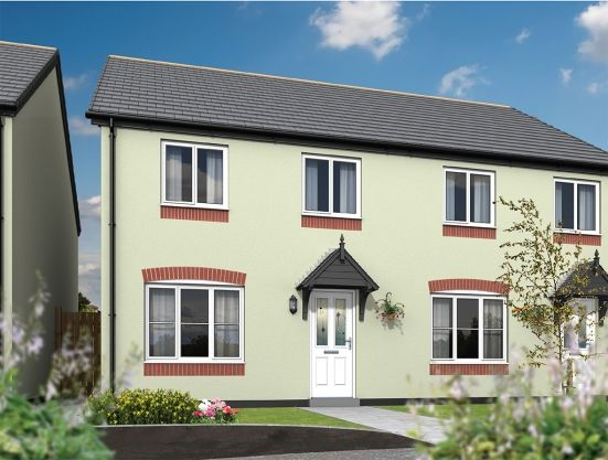 Thumbnail Terraced house for sale in Tregony Road, Probus, Truro