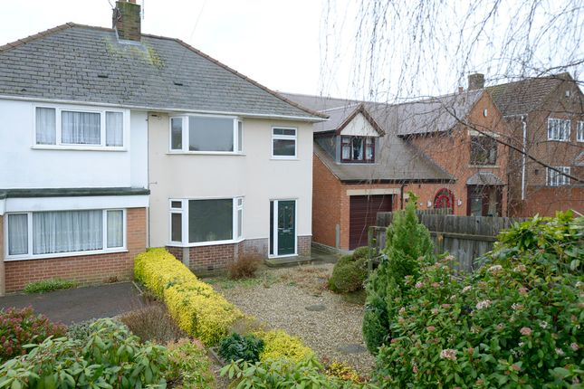 Thumbnail Semi-detached house for sale in Brockwell Lane, Chesterfield