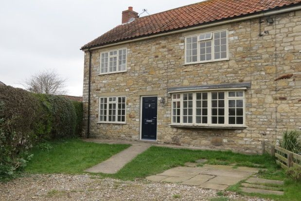 Thumbnail Cottage to rent in Main Street, Harome, York
