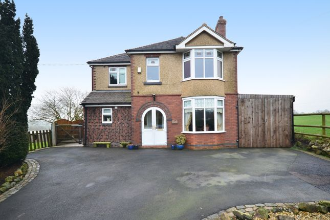 Thumbnail Detached house for sale in Godley Lane, Dilhorne, Stoke-On-Trent