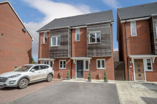 Thumbnail Town house for sale in Old School Close, Sholing, Southampton