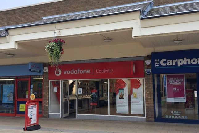 Thumbnail Retail premises to let in 21 New Broadway, Belvoir Shopping Centre, Coalville