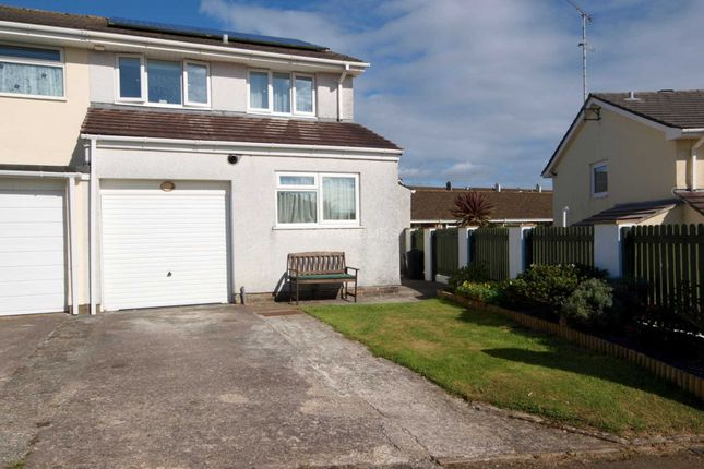 3 bed semi-detached house for sale in Hobbs Crescent, Saltash
