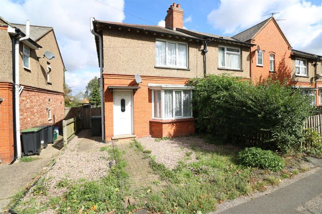 Thumbnail End terrace house for sale in Tennyson Road, Rushden
