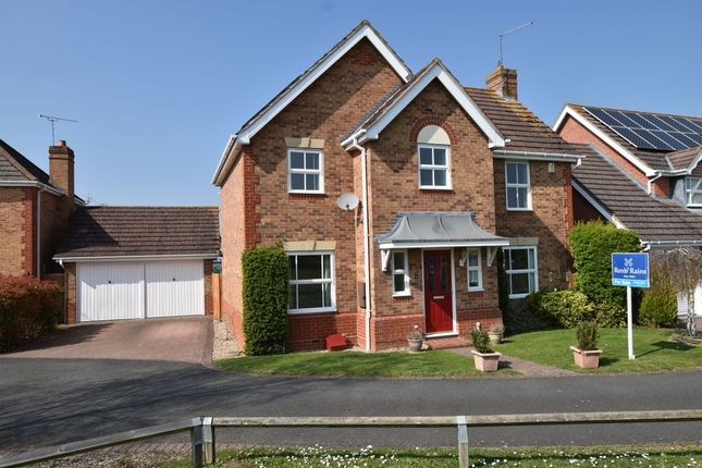 Thumbnail Detached house for sale in Tyne Drive, Evesham